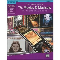 Alfred KDM Top hits from TV, Movies and Musicals for flute Play-Along