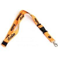 Orange Lanyard BLK/OR Schlüsselanhänger