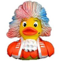 Bosworth Rubber Duck Amadeus Orange Figur