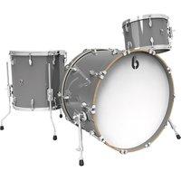 """British Drum Co. Legend 22"""" Winchester Grey Shellset Schlagzeug"""