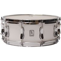 """British Drum Co. Legend 14"""" x 5,5"""" Picadilly White Snare Snare Drum"""