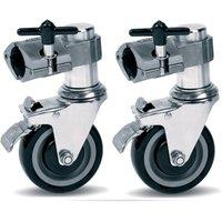 DW 9000 Series Rack Casters Pair Drum-Rack-Zubehör