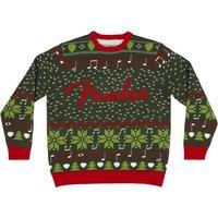 Fender Ugly Christmas Sweater XL Sweatshirt
