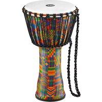 "Meinl African 10"" Rope Tuned Medium Djembe PADJ2-M-F Kenyan Quilt"