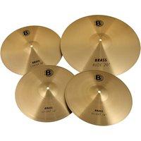 Bounce Brass Cymbal Set 3 Pcs. Becken-Set