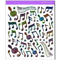 AIM Gifts Rainbow Notes Stickers Aufkleber