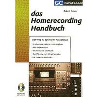 Carstensen Homerecording Handbuch Technisches Buch
