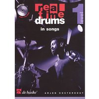 De Haske Real Time Drums in Songs Level 1 Play-Along