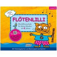 Hage Flötenlilli Bd.1 Kinderbuch