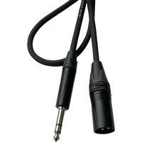 AudioTeknik GSM 0,5 m black Audiokabel