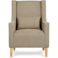 Leven Wingback Chair with Footstool