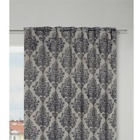 Willman Slot Top Blackout Thermal Single Curtain