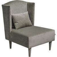 Pepi Plush Wingback Chair