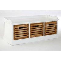 Springfield Drawer Storage Bench