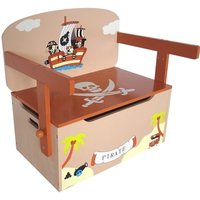 Pirate Convertible Toy Storage Bench