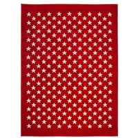 Star Red Rug