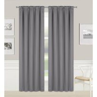 Wille Pencil Pleat Blackout Thermal Single Curtain