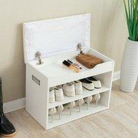 Golden Heights 6-8 Pair Shoe Storage Bench