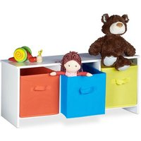 Childrens Toy Storage Bench
