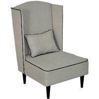 Pastel Wingback Chair