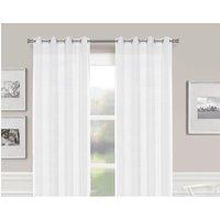 Elijah Eyelet Semi Sheer Thermal Single Curtain