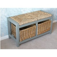 Jacaranda Wood Storage Bench