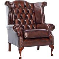 Scroll Wingback Chair