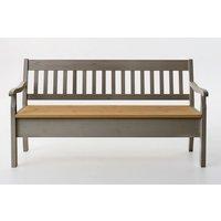 Boston Wood Storage Bench