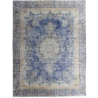 Charlie Hand Knotted Beige/Purple Rug