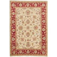 Chilmark Hand Knotted Wool Beige/Red Rug