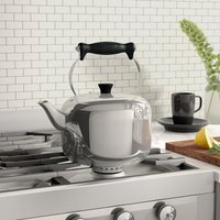 MasterClass Induction Safe Stainless Steel Stovetop Kettle