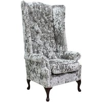 Rolston Velvet High-Back Wingback Chair
