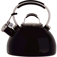 2L Induction Safe Whistling Stove Top Kettle in Black