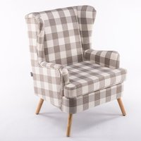 Crystal Wingback Chair