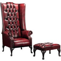 Trisara Wingback Chair and Footstool