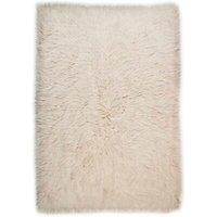 Handgefertigter Teppich Fergus aus Wolle