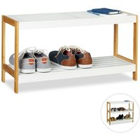 6 Pair Shoe Storage Bench