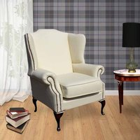 Chinnock Leather Wingback Chair