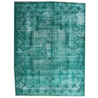 Charlie Hand-Knotted Torqise Rug