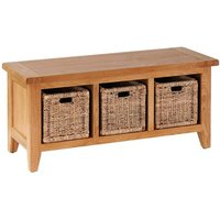 Millais Petite Wood Storage Bench