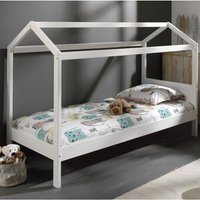 Erik European Single Four Poster Bed