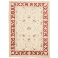 Chilhowie Hand Knotted Wool Beige/Red Rug
