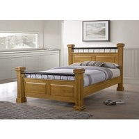 Dematteo Upholstered Four Poster Bed