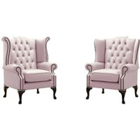 Belfield 2 Piece Wingback Chair Set