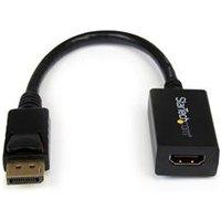 StarTech.com DisplayPort to HDMI Video Adapter Converter.