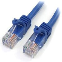 StarTech.com 5 ft Cat5e Blue Snagless RJ45 UTP Cat 5e Patch Cable - 5ft Patch Cord