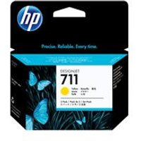 HP 711 3-pack 29-ml Yellow Ink Cartridges.