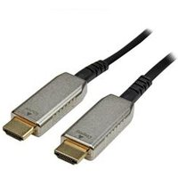 StarTech.com 30m (100 ft) Active Fiber Optic AOC High Speed HDMI Cable M/M