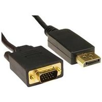 Cables Direct DisplayPort Cable - HD-15 (M) to DisplayPort (M) - ( DisplayPort 1.1 ) 2m