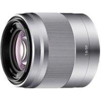 Sony SEL50F18 E 50mm f/1.8 OSS Lens E Mount for NEX series - Silver at BT Broadband & Mobile